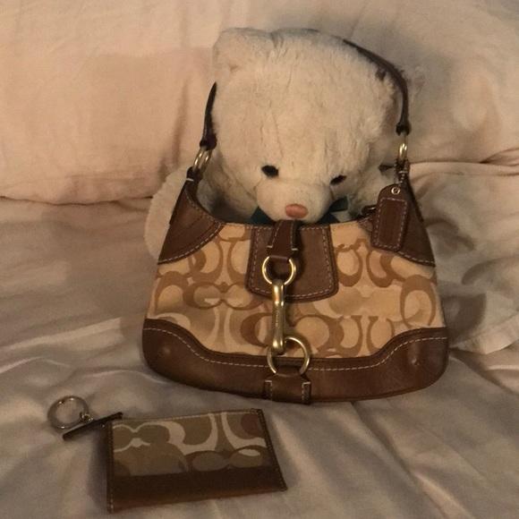 Coach Handbags - Coach bag and change purse